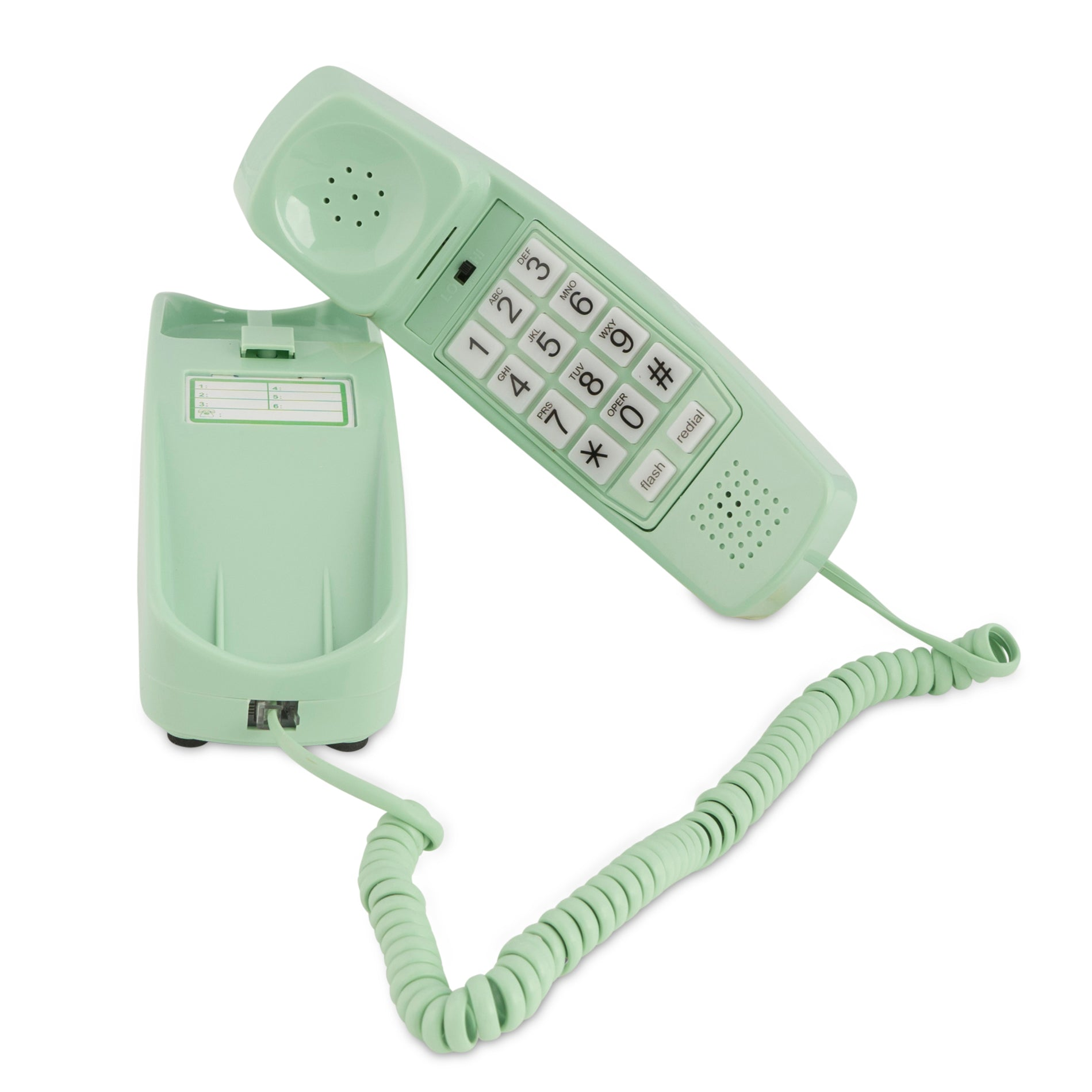Trimline Corded Phone - Earth Day Green