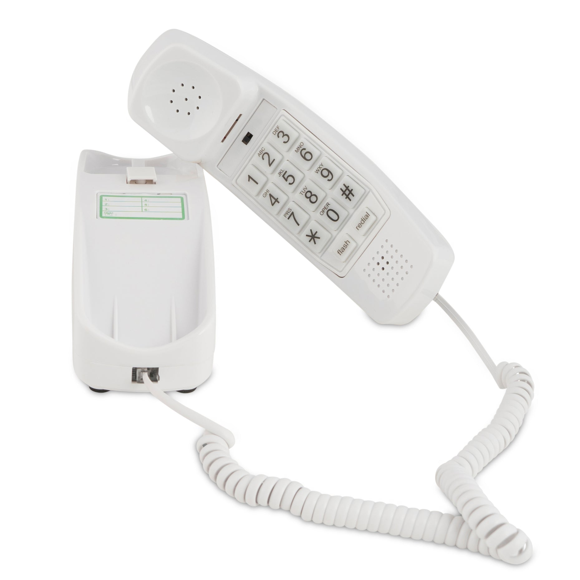 Trimline Corded Phone - Choctaw White