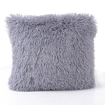 Faux Fur Square Throw Pillow Cover 45cmx45CM (Multiple Colors)