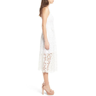 Samantha White Lace Dress