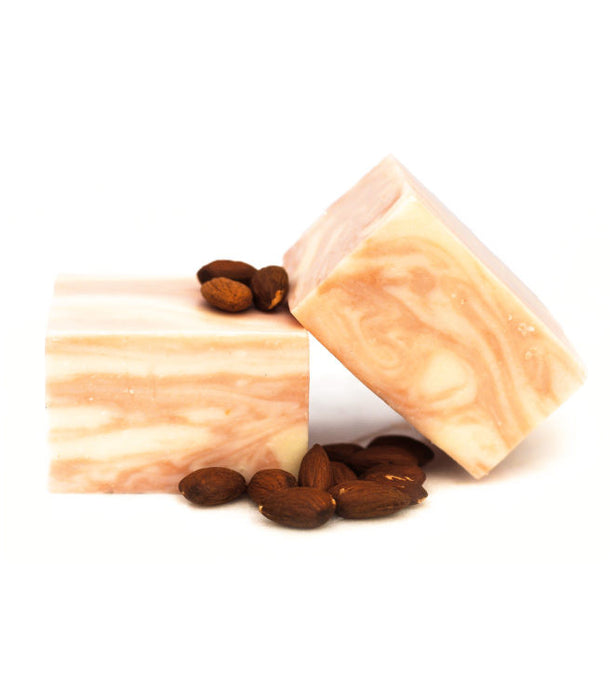 Almond Goat Milk Swirl Soap