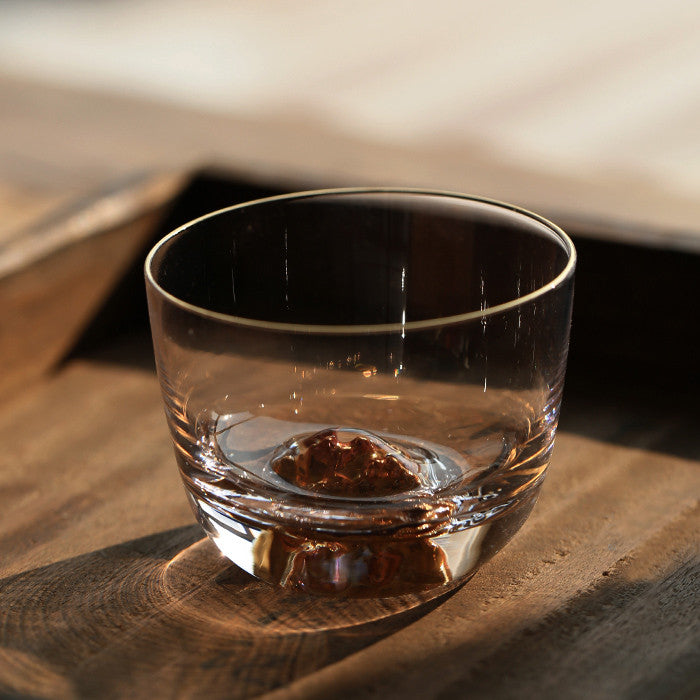 THE MOUNTAIN Japanese Tea Glass