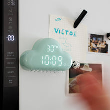 Rain Cloud Alarm Clock With Time and Temp