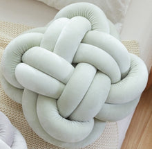 Plush Knotted Ball Cushion