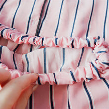Women Striped Pajamas 2 Two Piece Set