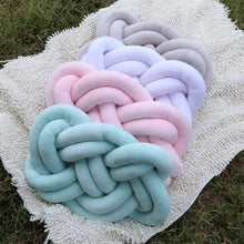 Plush Knotted Cushion (Braided)