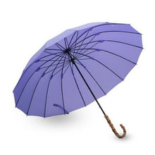 Large Bamboo Handle Umbrella
