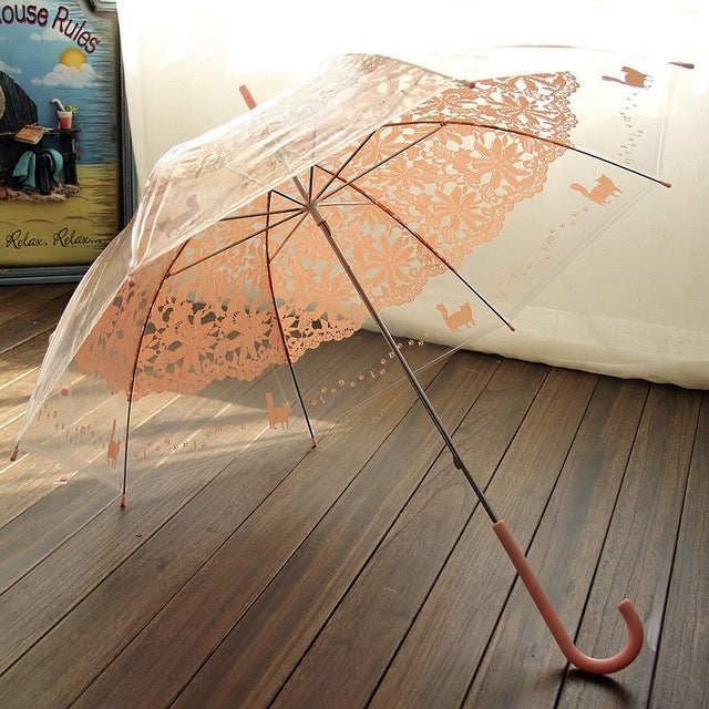 Yesello Lace Printed Umbrella