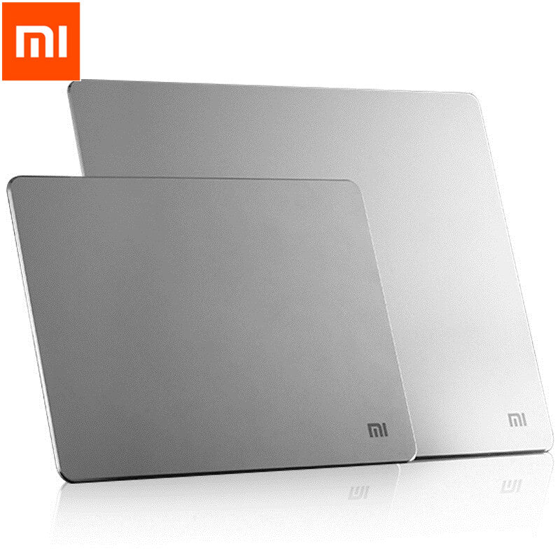 Xiaomi MI Metal Aluminum Alloy Slim Mouse Pad PC Computer Laptop Mouse Pads