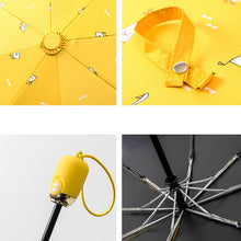 Yesello Yellow Duck Printed Umbrella