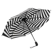Susino Spiral Black White Windproof Umbrella