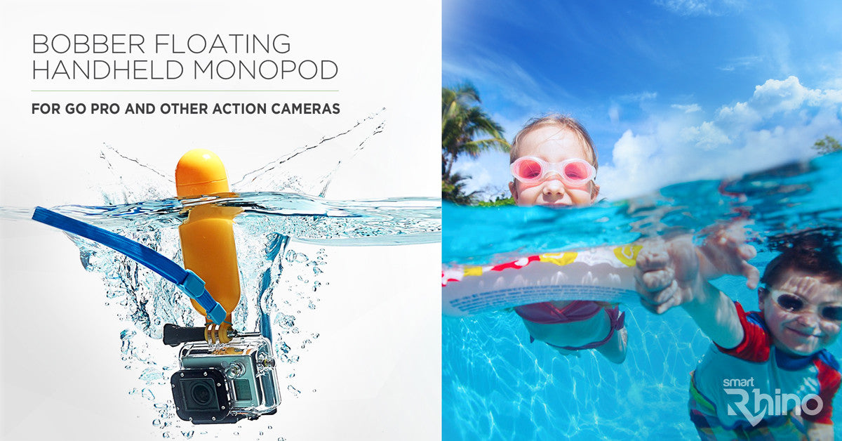 Go Pro Bobber Floating Handheld Monopod for HERO 4 3 3 2 1 or SJCAM SJ4000 Xiaoyi Action Camera Soprts Mini DV