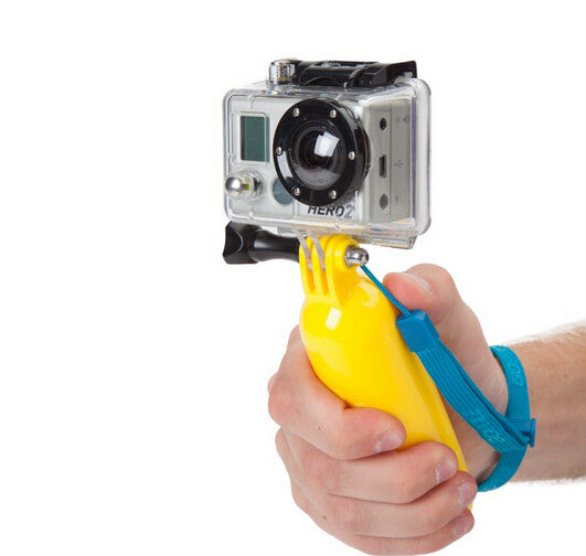Bobber Floating Handgrip Monopod for Go Pro and other action cameras