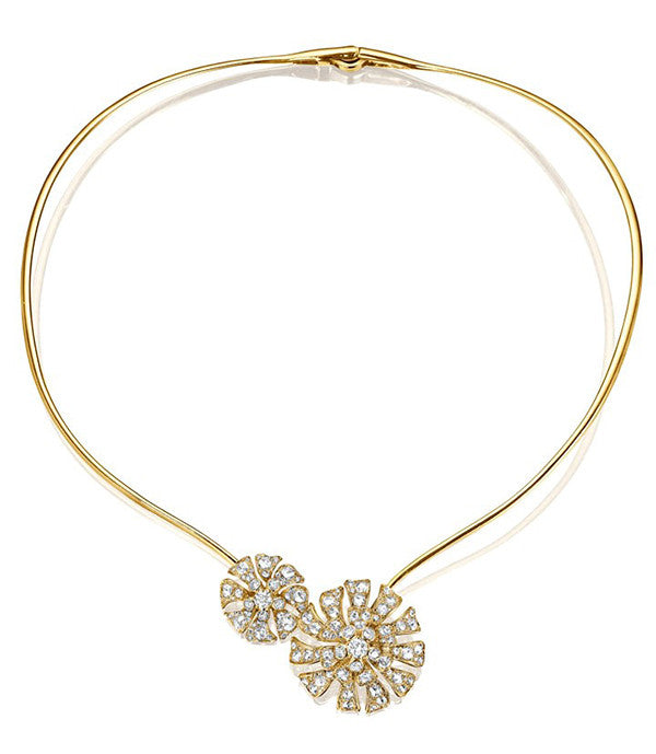 Maria Canale Double Aster Bloom Collar