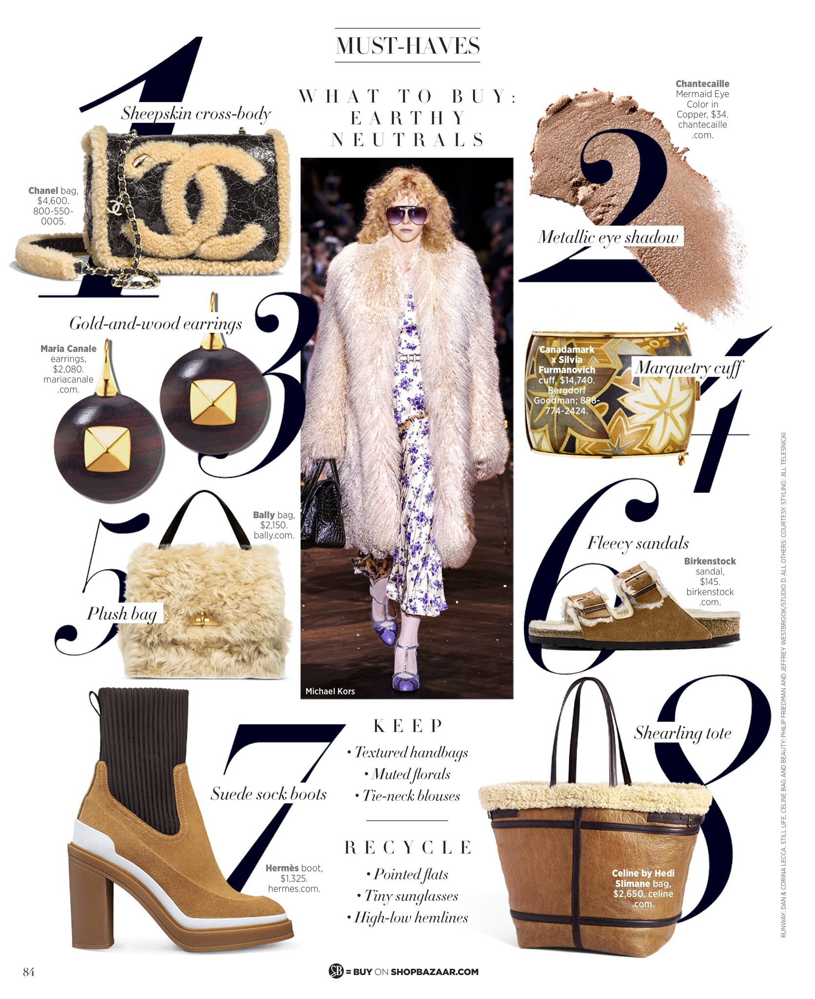 Harpers Bazaar Features Maria Canale Voyager Collection