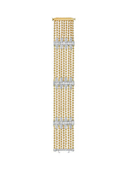 Flapper Nine-Row Diamond Bracelet