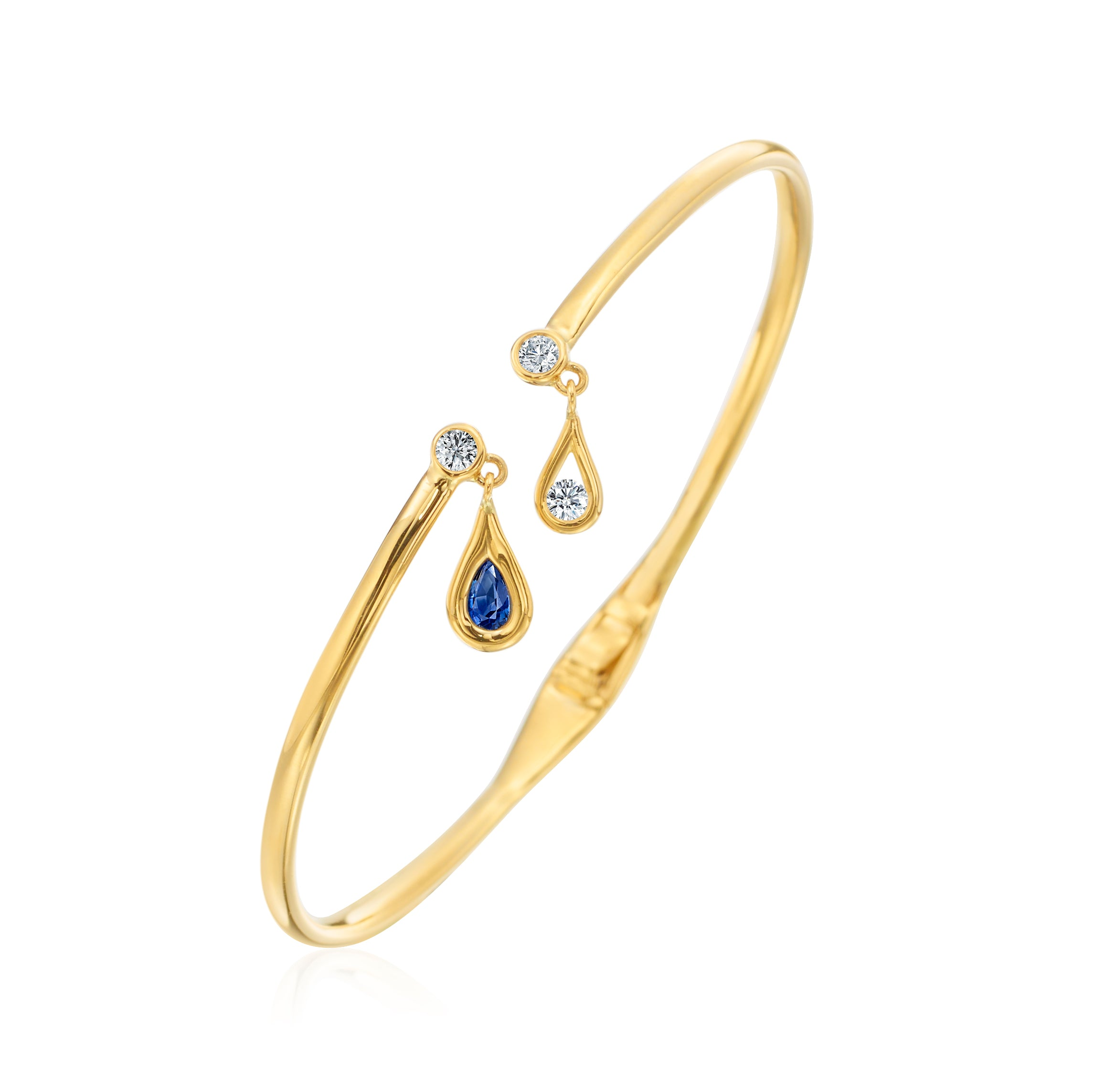 - Dangle Drop Bangle -