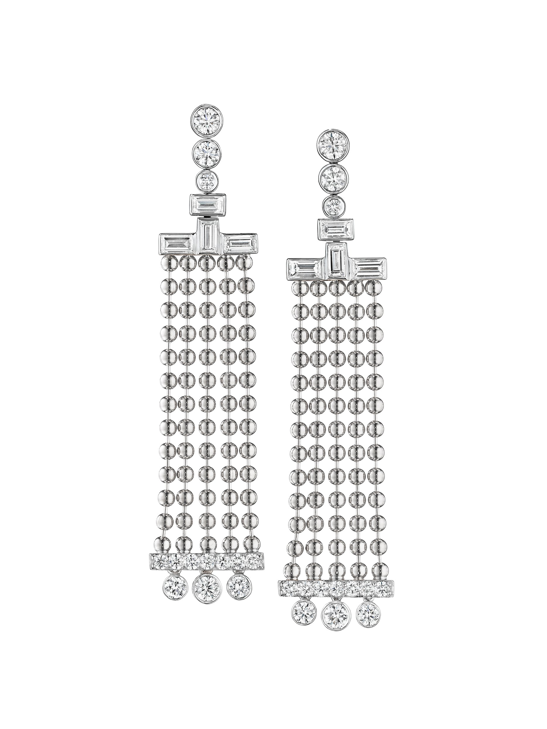 - Flapper Chandelier Earrings -