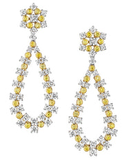 Detachable Jubilee Diamond Drop Earrings