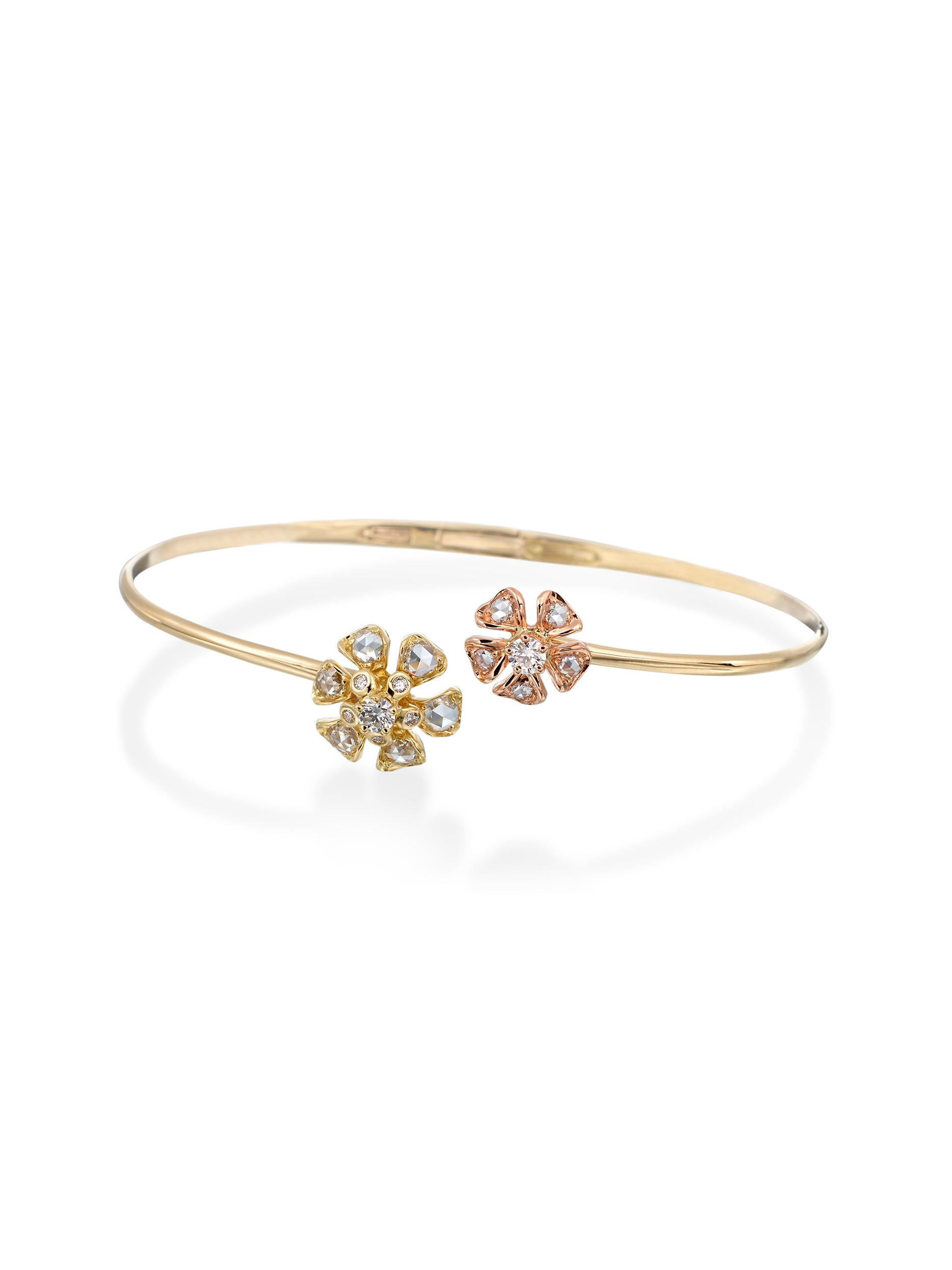 - Petite Aster Bloom Bangle -