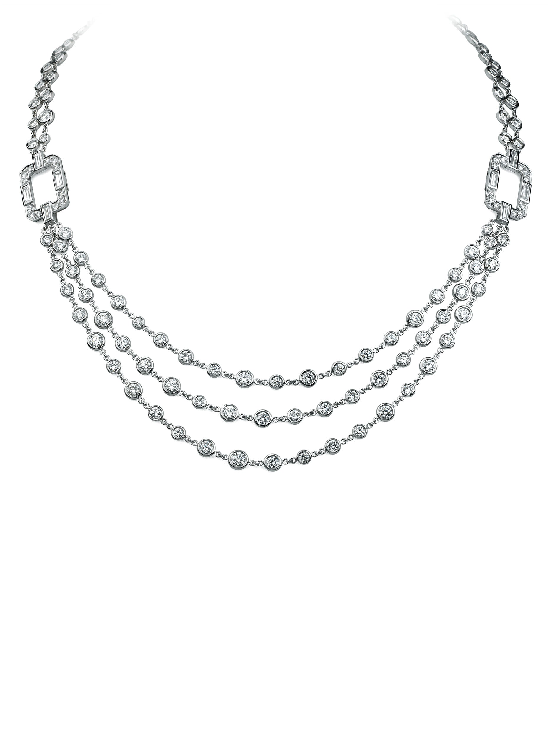 "36"" Regatta Convertible Diamond Necklace"