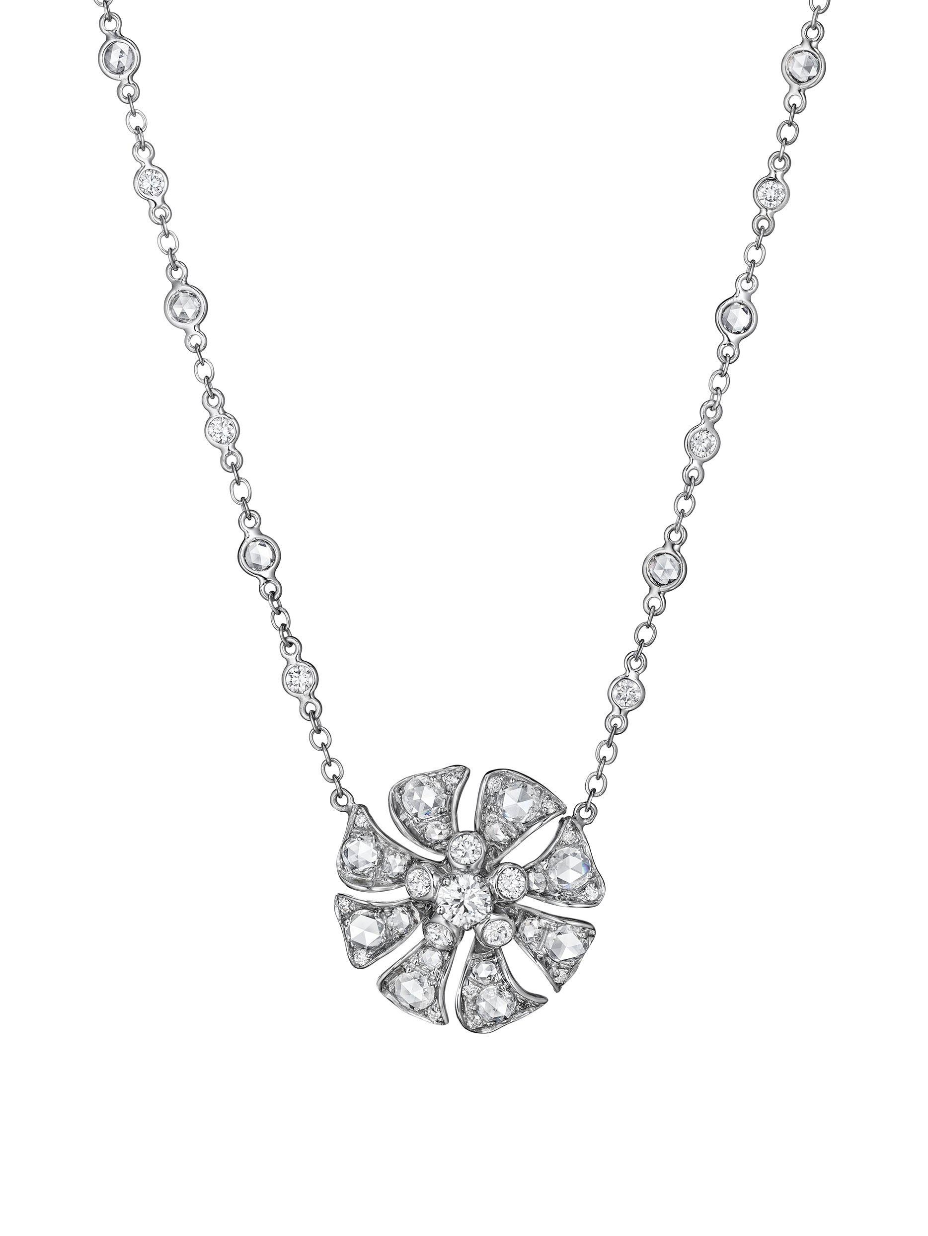 Aster Single Blossom Necklace