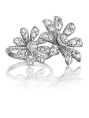- Aster Double Blossom Ring -