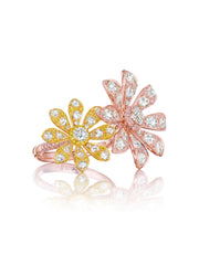 Aster Double Blossom Ring