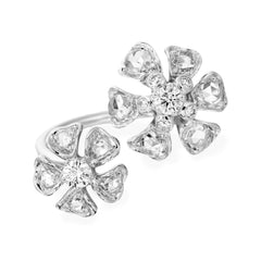 - Aster Double Petite Blossom Ring -