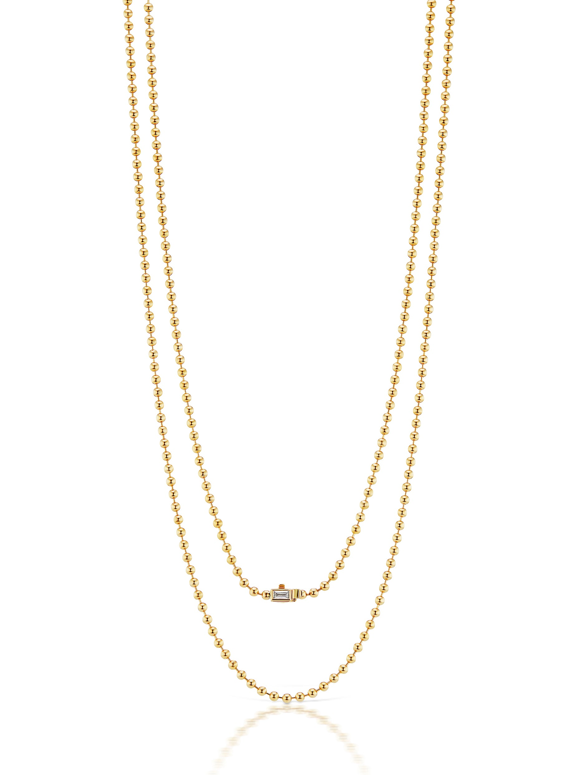 Flapper Single Strand Necklace