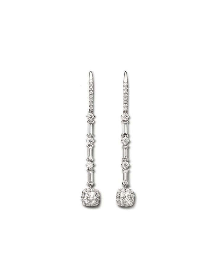 Diamond Stiletto Earrings