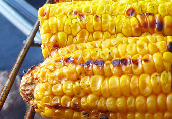 Grilled Bourbon Maple Corn on the Cob