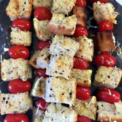 Garlic Bread Skewers