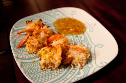 Coconut Shrimp with Spicy Mango Sauce