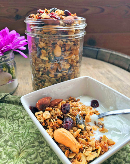Cranberry Lime Granola