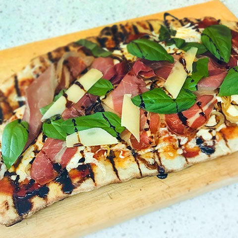 Jen's Grilled Pizza