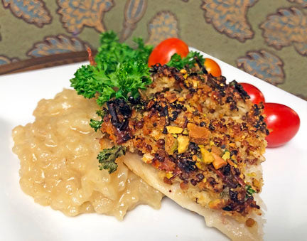 Pistachio-Crusted Fish