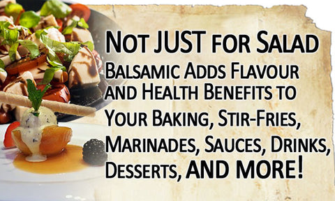 balsamic vinegar uses