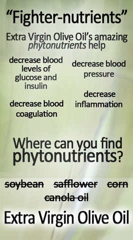 phytonutrients in extra virgin olive oil
