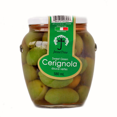 Sweet Green Cerignola Olives