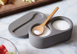 Salt Cellar with Spoon