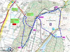 Ossy Oiks Fell Race Route