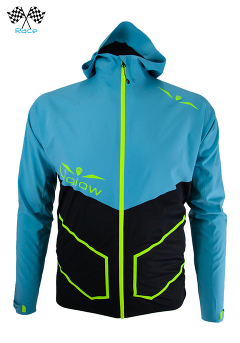 Uglow - URAIN HYBRID MAX Men's running jacket