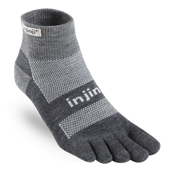 Injinji - Outdoor Midweight Mini Crew NuWool Socks