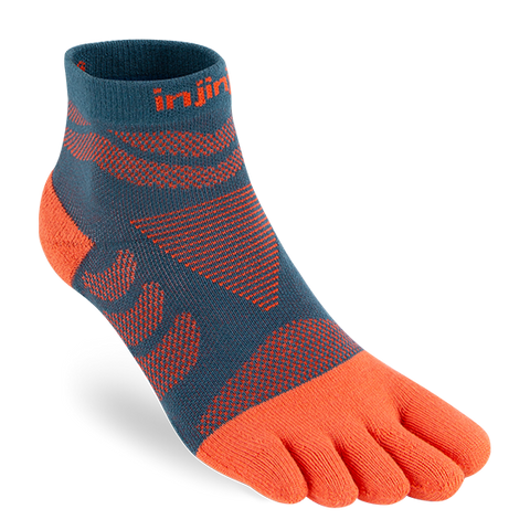Injinji - Women's Ultra Run Mini Crew toe socks