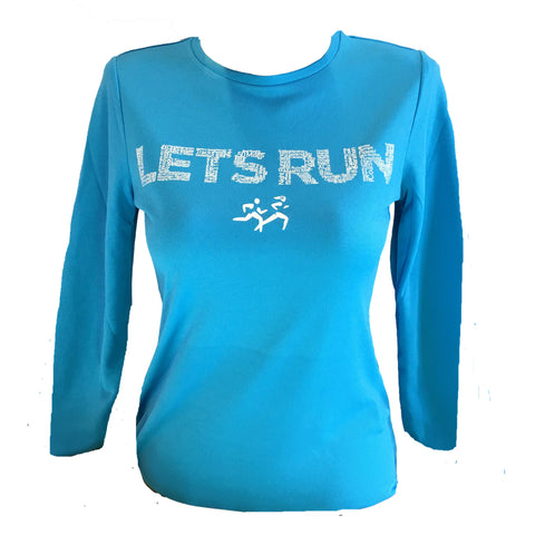 Let's Run -  Women's Long sleeved T-shirt