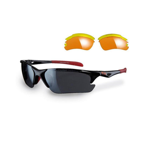 Sunwise - Twister Orange Sunglasses Includes Black Jersey Zip case