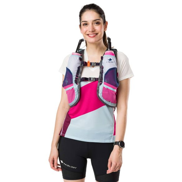 Raidlight - Activ Women's 6L Running Vest with 2x 600ml Bottles
