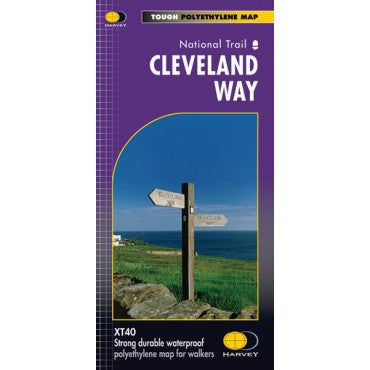Harvey National Trail - XT40 - Tough Polyethlene Map