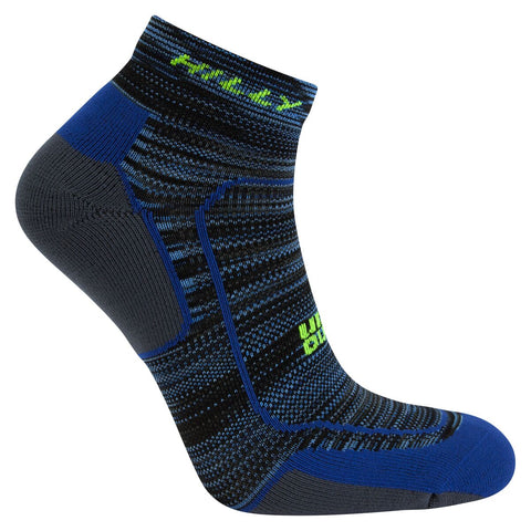 Hilly - Lite Comfort Unisex Running Sock - Quarter